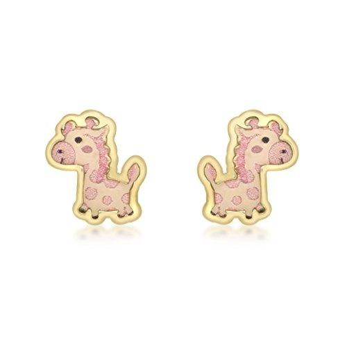 1 Paar Motiv Ohrstecker Mädchen Ohrringe Tiere Herz Alt Silber Fisch Kirsche
