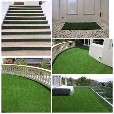 25mm Artificial Grass Fake Carpet 1m X Dry