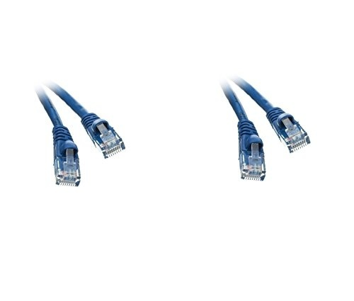 7 feet Cable PcConnectTM CAT5E White Bootless UTP
