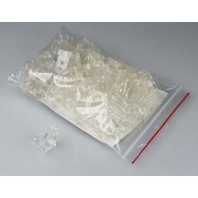 Glasperlen Ø 4 mm 50 Stück dust-light-taupe