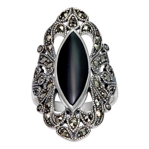 Beautiful Ladies Diamante Brooch Black White Panda silver or gold birthday 709