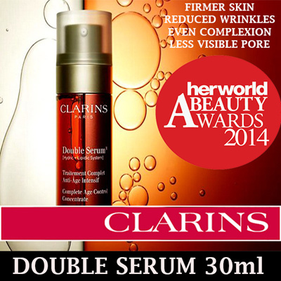 qoo10 clarins double serum complete age control concentrate 30ml perfume luxury beauty. Black Bedroom Furniture Sets. Home Design Ideas