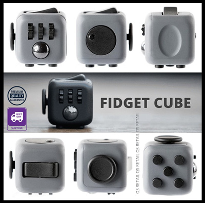 qoo10 cny promo fidget cube original high quality. Black Bedroom Furniture Sets. Home Design Ideas