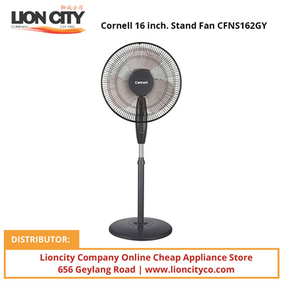 Qoo10 Cornell 16 Inch Stand Fan Cfns162gy Home