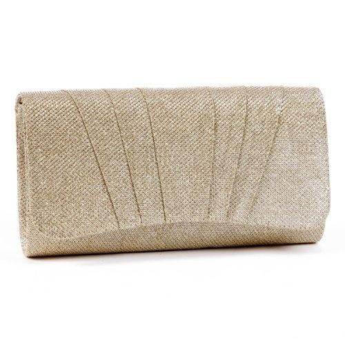 Fossil Damen Geldbörse Emerson Flap Clutch Neutral Multi