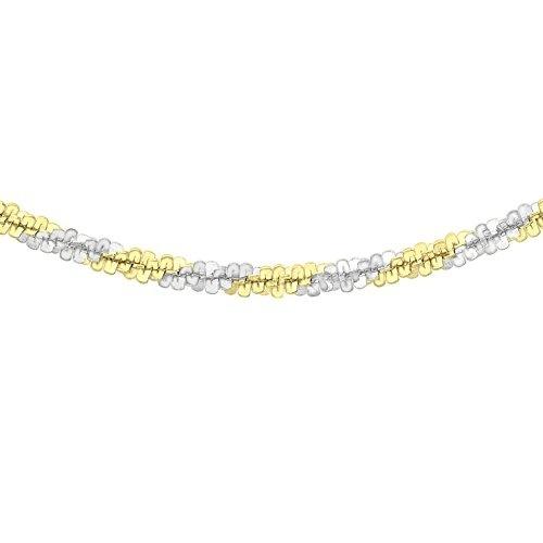 585  Gelbgold 1 Paar Durchzieher 63 mm lang mit Zirkoinamotiv 12 mm