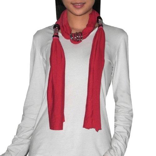 ESPRIT Solid Cozy Scarf Schal Tuch Halstuch Damen Mode Rosa Dark Old Pink Neu