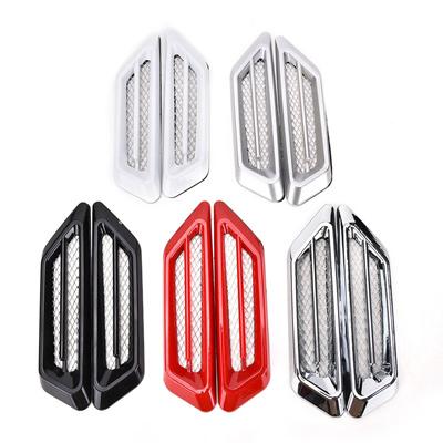 Qoo10 details about 2pcs chrome car suv air flow fender side vent decoratio automotive - Air deco ...