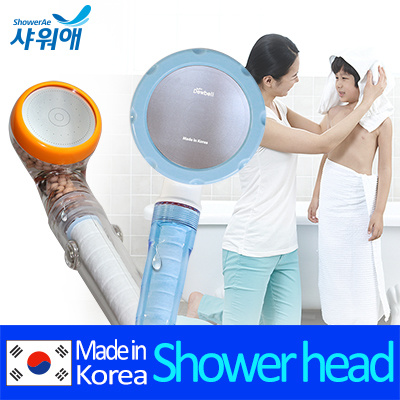 qoo10 dewbell shower head with filter an ceramic balls remove rust residual home electronics. Black Bedroom Furniture Sets. Home Design Ideas