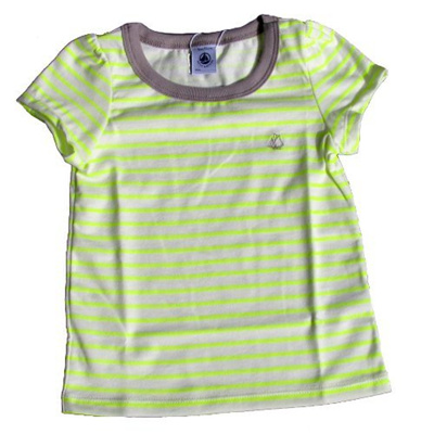 Qoo10 direct from germany petit bateau t shirt neon for Petit bateau striped shirt