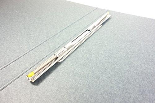 710/x 664/mm//6/A4 Colour Grey Bi-Office Enclore Display Case Felt Extra