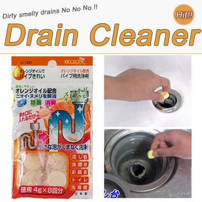 how to clean smelly drains in kitchen