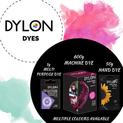 qoo10 dylon fabric dye series multi purpose dye hand. Black Bedroom Furniture Sets. Home Design Ideas