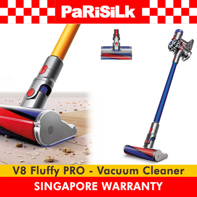 qoo10 free delivery v8 fluffy pro v8 absolute plus cordless vacuum clean home electronics. Black Bedroom Furniture Sets. Home Design Ideas