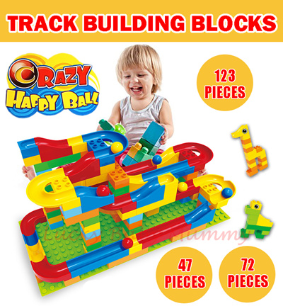 Qoo10 【educational Toy】duplo Like Building Blocks With