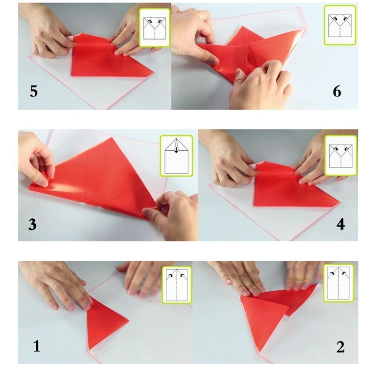 NEW 1 Pack Origami Folding Cranes Eggs Noctilucence 40 Sheets Paper 90 mm