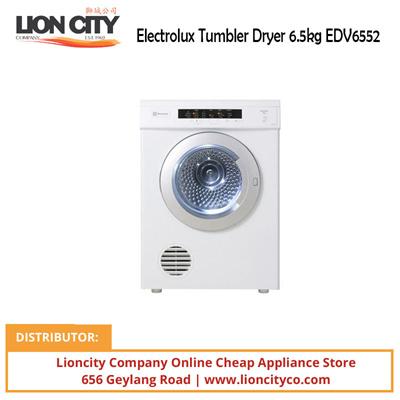 electrolux dryer 6 5kg. electrolux tumbler dryer 6.5kg edv6552 6 5kg