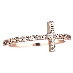 WLLAY Simple Rose Gold Star of David Bangle Open Cuff Bangle Bracelet Jewish Jewelry