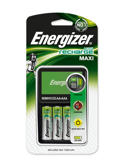 qoo10 energizer maxi aa aaa battery charger with 1300. Black Bedroom Furniture Sets. Home Design Ideas