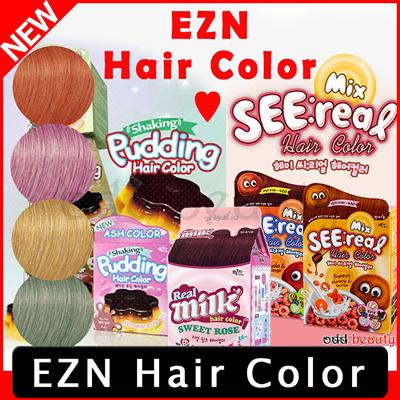 Qoo10  EZN Hair ColorEZN Shaking Pudding Hair ColorSEE