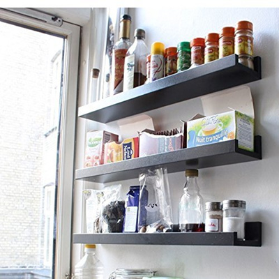 qoo10 fasthomegoods wall mount spice rack floating. Black Bedroom Furniture Sets. Home Design Ideas