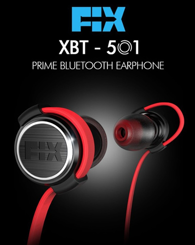 Big Hit Fix Xbt 501 Prime Bluetooth Earphone Wireless Ultra