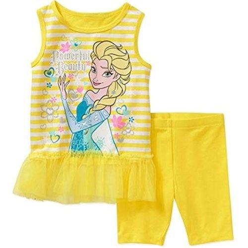 Peplum Disney Frozen Elsa Girls Hatcki Ruffle Top