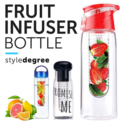 healthy fruit fruit water bottle