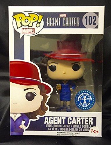 Agent Carter Toys : Qoo funko pop marvel agent carter w gold orb