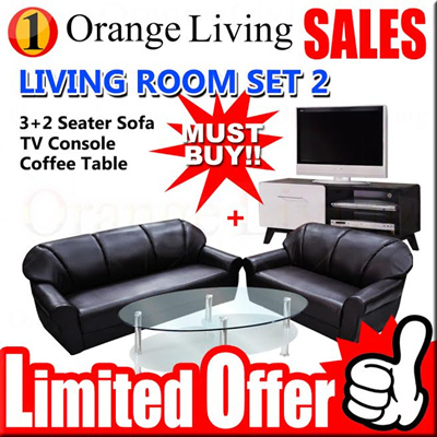 Qoo10 furniture sales gss promotion living room for Furniture 3 room package