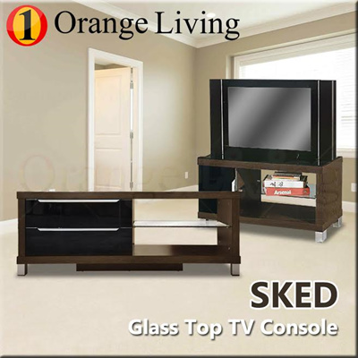 Qoo10 furniture sales modern flat screen tv console table with dvd player furniture deco - Deco moderne flat ...