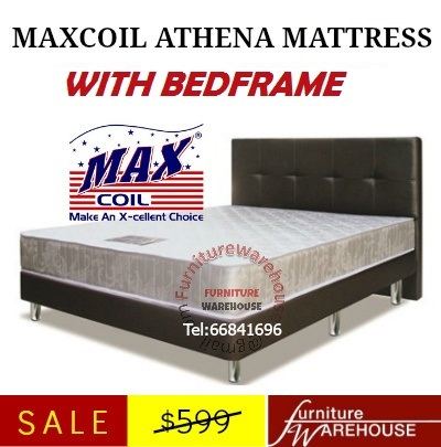 Qoo10 furniture warehouse sale maxcoil athena queen for Furniture warehouse sale