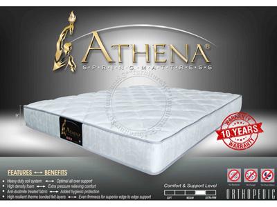 mattress athena orthopedic mattress free pillows free delivery