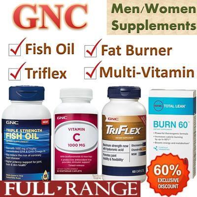 Qoo10 Best Price Gnc Multi Vitamin Fish Oil Trif1ex