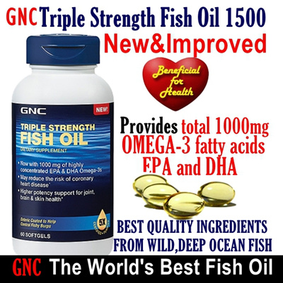 Qoo10 weekend sale 72 off retail gnc triple strength for Gnc triple strength fish oil 1500