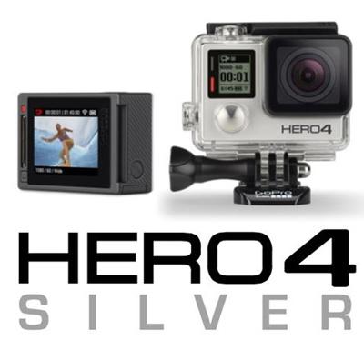 qoo10 gopro hero 4 silver tv camera audio. Black Bedroom Furniture Sets. Home Design Ideas