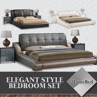 Qoo10 great deal ihomebed bedroom set 8 models bed for Good deals on bedroom sets