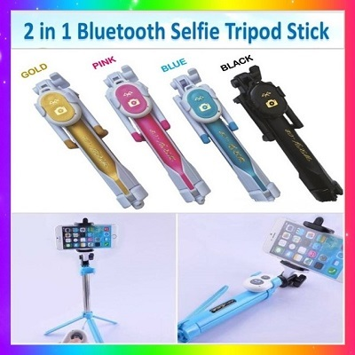 qoo10 gss 2017new super 2 in1 bluetooth selfie tripod stick v2 compact li mobile devices. Black Bedroom Furniture Sets. Home Design Ideas