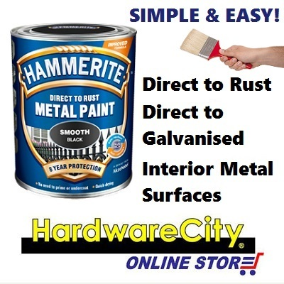 Qoo10 Hammerite Direct To Rust Metal Paint Smooth Gloss Finish Exterior And Tools
