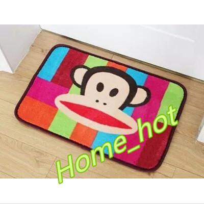 Slip-resistant Mats Coral Fleece Doormat Carpets Memory Foam Slow Rebound Mat#TA