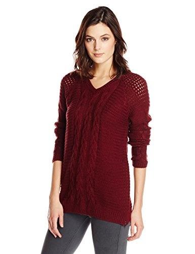 Women/'s Warm Fine Knit Polo Neck Jumper Long Sleeve Sweater Wait Jumper 639