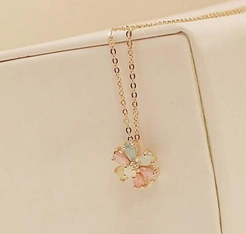 734 crystal necklace horse shoe lucky charm good luck wedding bridel birthday