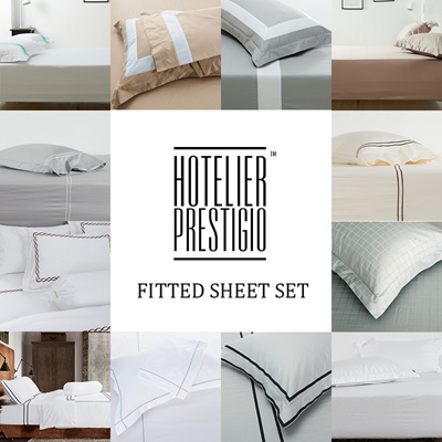 Qoo10 hotelier prestigio luxury hotel bedding series for Luxury hotel 750 collection sheets