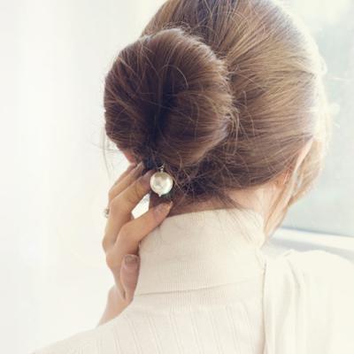 Haarring Haargummi Ring Cleopatra Zopf Scrunchy Love Hair