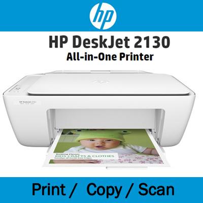 Qoo10 - HP Deskjet 2130 All-in-One Printer / Print / Scan ...