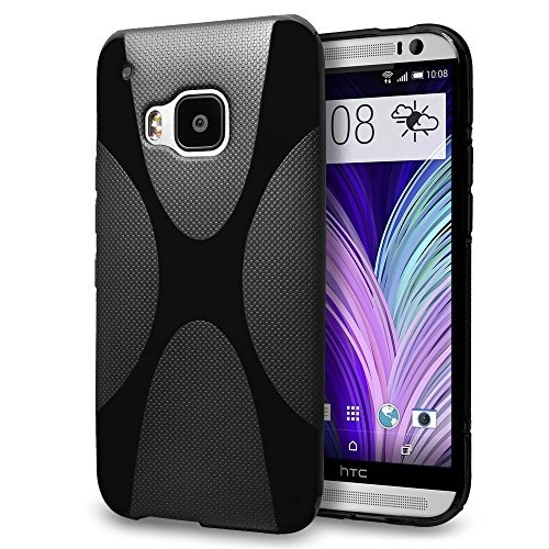 Cell Phone Accessories Cases, Covers & Skins Genuine Htc V941 Clip On Flip Wallet Folio Case Cover For Htc One M8 Grey Vivid And Great In Style