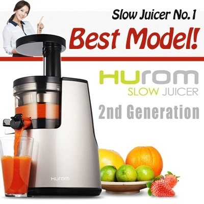 Slow Juicer Smoothie Maker : Qoo10 - HUROM 2nd Generation HH-SBF11 Premium Slow Juicer ...