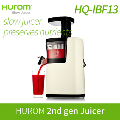 Slow Juicer Taiwan : Qoo10 - [HUROM] HUROM Slow Juicer HQ-IBF13 / Juicer extractor blender / Slow S... : Home Electronics