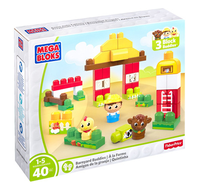 Qoo10 - [In Stock] Mega Bloks First Builders Barnyard ...