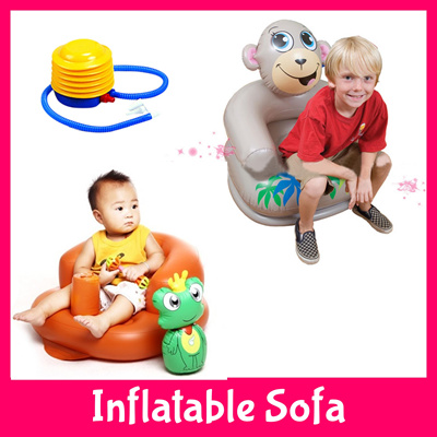 qoo10 inflatable air baby child adult sofa travel. Black Bedroom Furniture Sets. Home Design Ideas